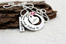 pilot wife necklace sweet aspen jewels