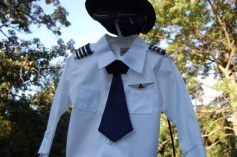 Toddler Airline Pilot Shirt