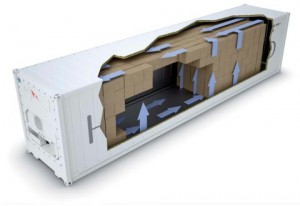 shipping container sizes reefer