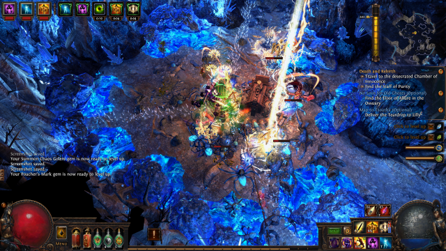Path of Exile - Effektgewitter