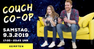 Kempten: Couch Co-Op! (09.03.2019) @ Heldenschmiede | Kempten (Allgäu) | Bayern | Deutschland
