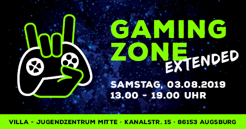 Gaming Zone EXTENDED (03.08.2019)
