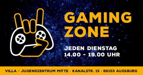 Gaming Zone @ Jugendzentrum Villa Augsburg