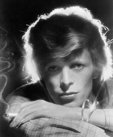 Hero to the music world: David Bowie