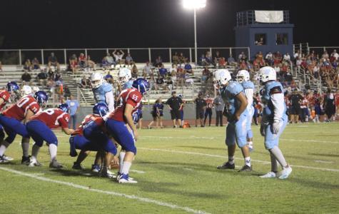 Varsity football falls to the Titans