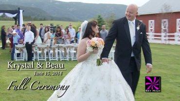 Krystal and Beau Wedding Full Ceremony