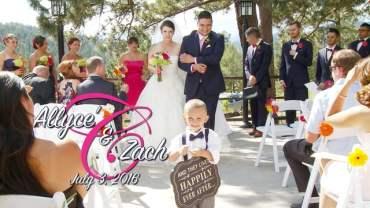 Allyce and Zach Wedding Ceremony