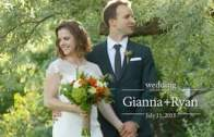 Gianna and Ryan Wedding Highlights