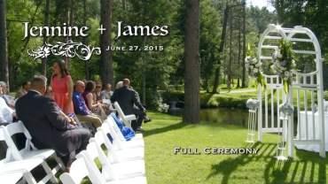 Jennine and James Full Ceremony