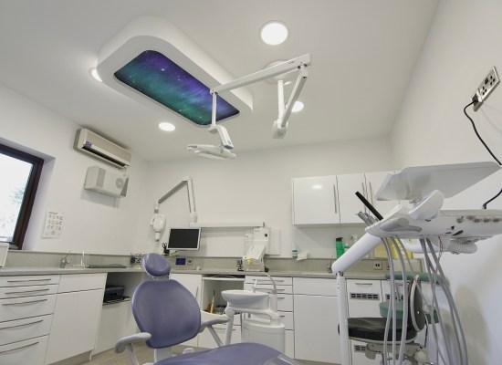 Virtual skylight for dentist practice