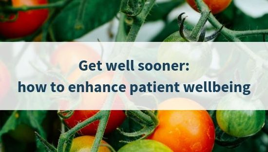 Banner for patient wellbeing blog
