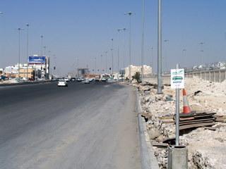 Przystanek w lutym 2007