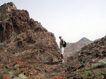Szlak trekkingowy otaczający Maskat