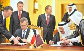 Wizyta Premiera Donalda Tuska w Katarze