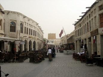 Souq Waqif w Doha