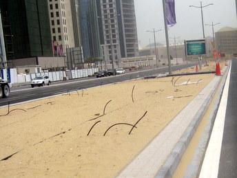 Tu będzie trawnik - Doha, Katar