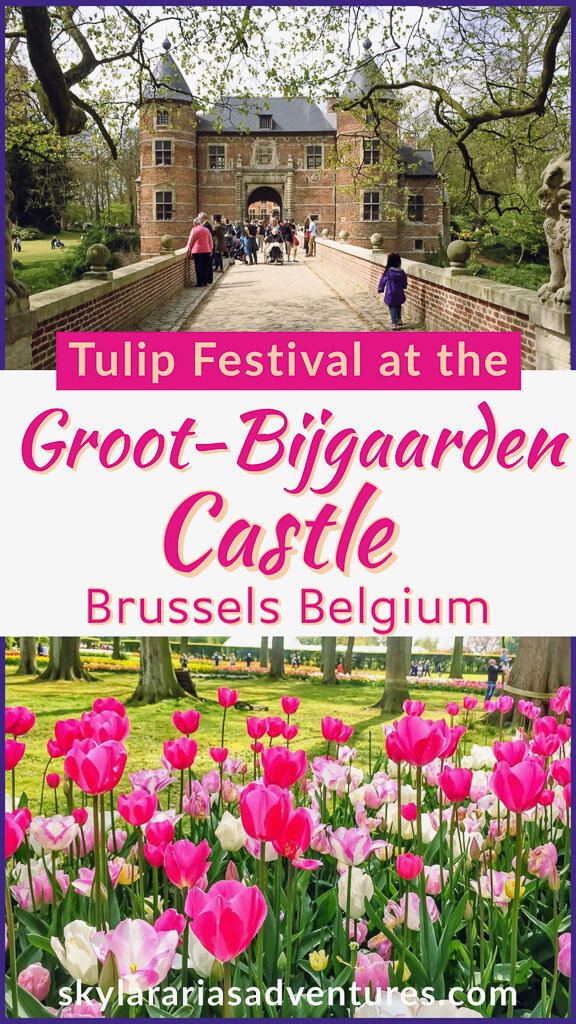 Groot Bijgaarden castle gardens