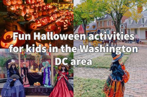Halloween activities for kids in the Washington DC area