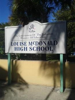 Damn Scots get everywhere! The island school