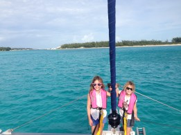 Coming into the channel between North and South Bimini.