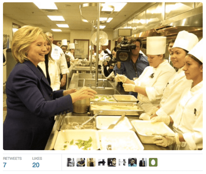 Hillary Clinton event coverage