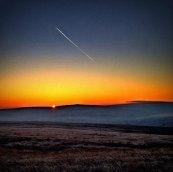 Sunrise over Marsden