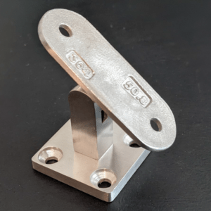 Picture of adjustable handrail bracket