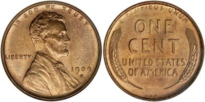 """An image of two US """"wheat"""" pennies. One shows """"heads"""" with a mint year of 1909; the other shows tails. This image was used on a home automation roundup under the heading, """"My two cents."""""""
