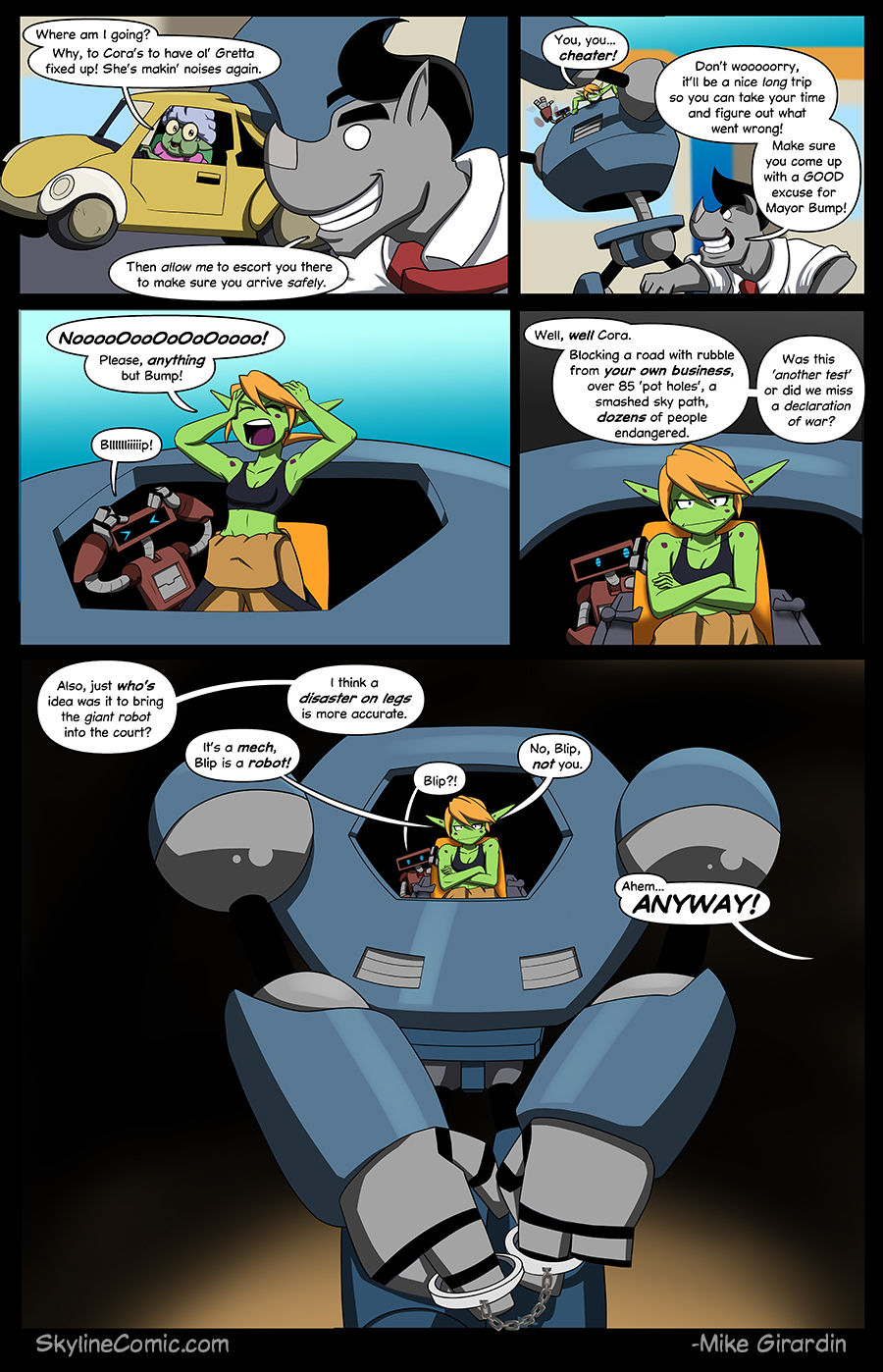 Journey to the Skyline Issue 01 Pg 08