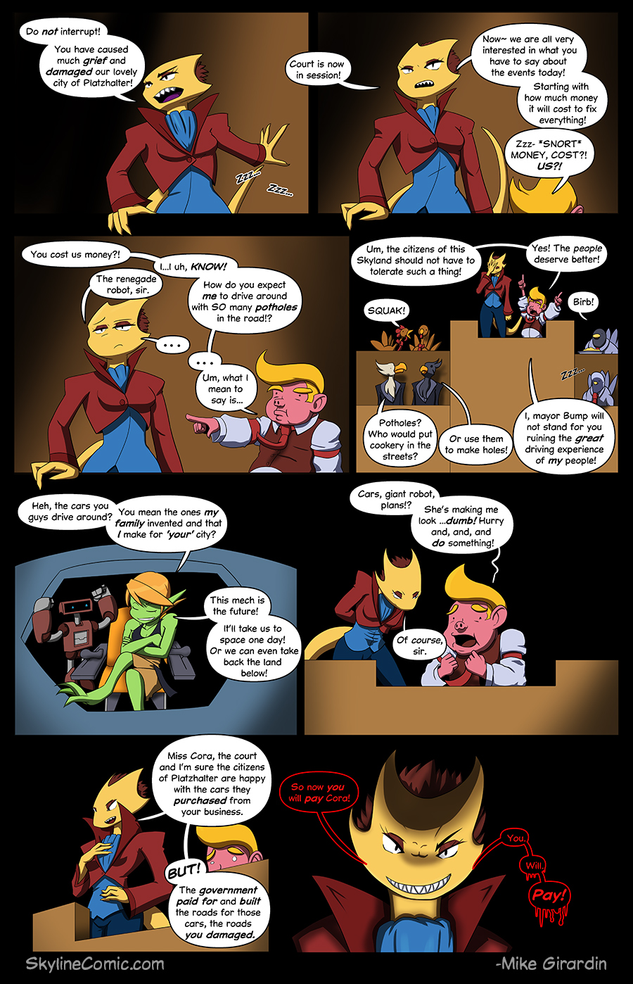 Journey to the Skyline Issue 01 Pg 09