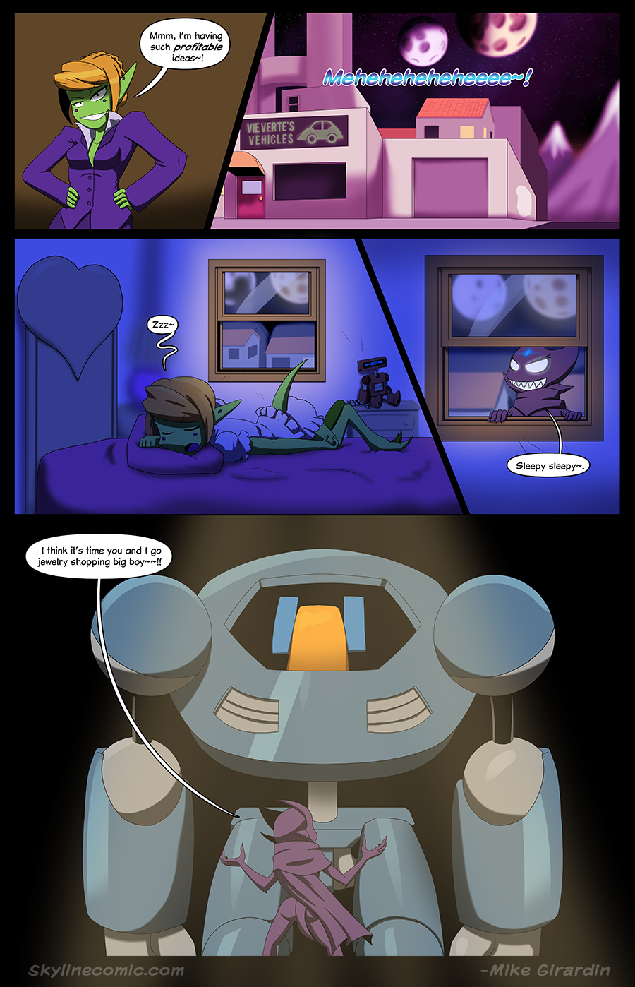 Journey to the Skyline Issue 01 Pg 21