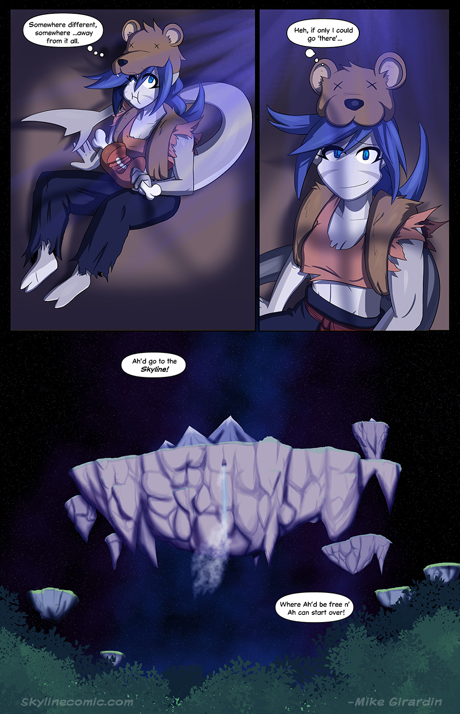 Journey to the Skyline Issue 01 Pg 23