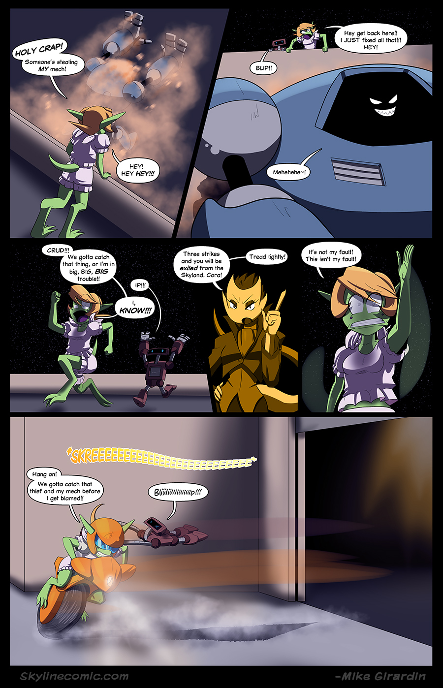 Journey to the Skyline Issue 02 Pg 11