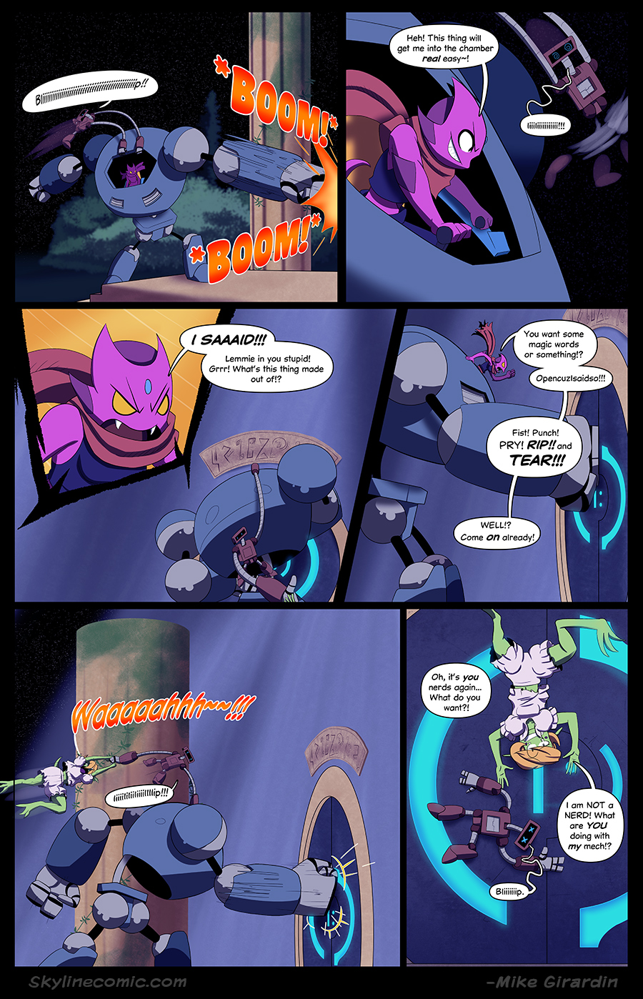 Journey to the Skyline Issue 02 Pg 16