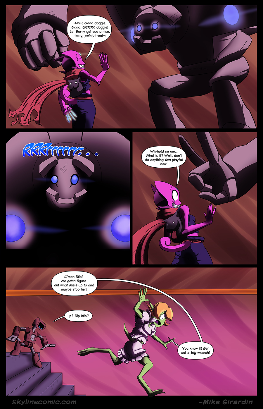 Journey to the Skyline Issue 02 Pg 26