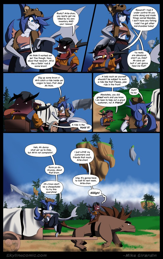 Journey to the Skyline Issue 03 Pg 16