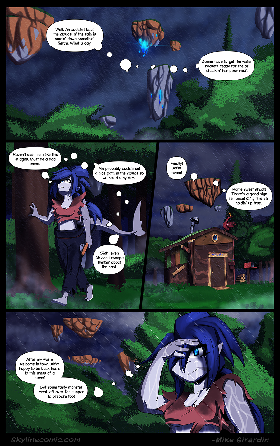 Journey to the Skyline issue 04 page 18