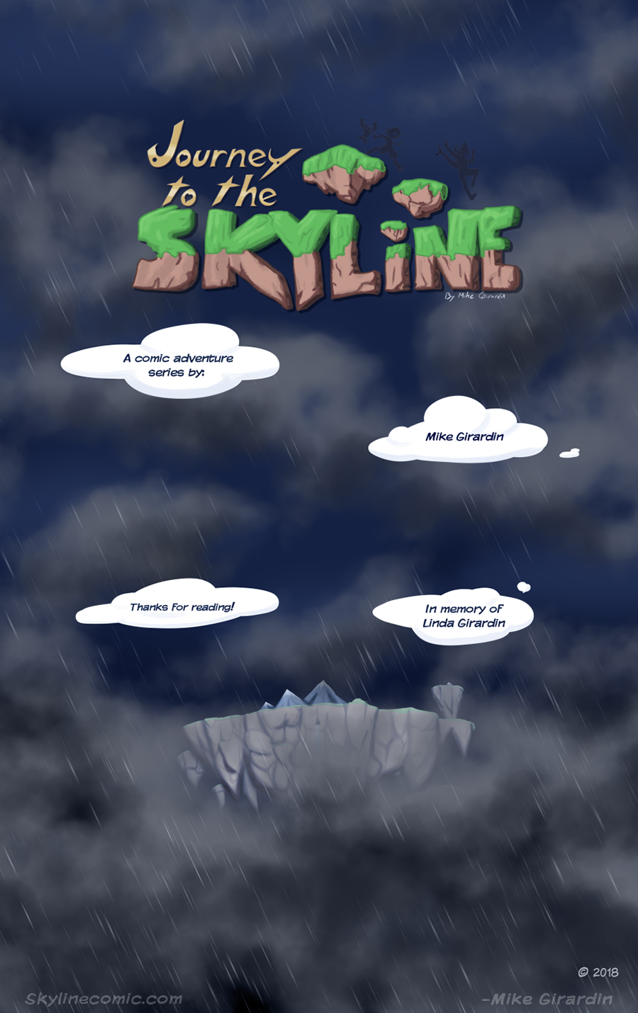 Journey to the Skyline Issue05 credits