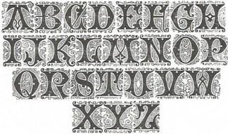STF Filigree Initials