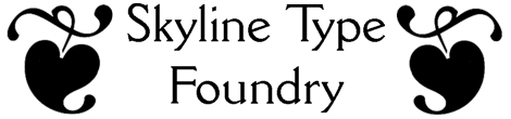 Skyline Type Foundry