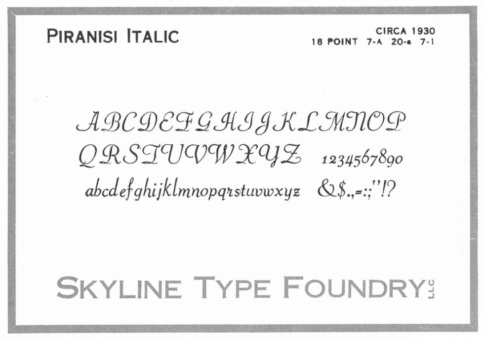 What's New – Skyline Type Foundry
