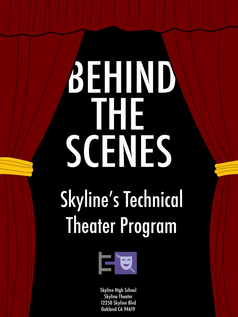 Skyline's Technical Theater Program