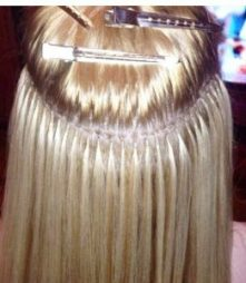 Blond Keratin Tip Extensions