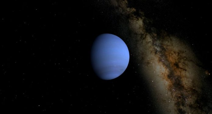 A diagram of Neptune during May 2021. | SkyNews