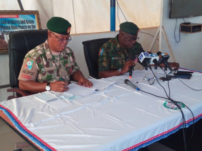 Nigeria's Plateau military taskforce boss says organise crime more prevalent, not cattle rustling