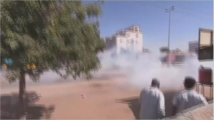 Sudan: protesters dispersed with tear gas