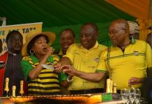 Zuma, Ramaphosa rally together ahead of May elections