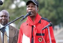 Zimbabwe union leader arrested