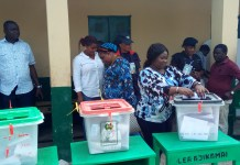 Lalong's daughter vote for the first time