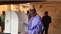 Nigeria 2019 polls: Buhari wins his, Atiku's, Obasanjo's polling units